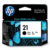 HP Black Ink Cartridge 21 [C9351AA] - Tinta Printer Hp